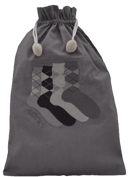 Men's Argyle Sock Bag