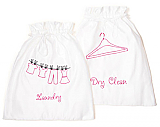 PINK Laundry Bag & Dry Clean Set