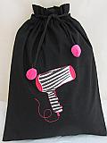 Zebra Hair dryer Bag