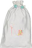 Whimsical Pink Shoe Bag