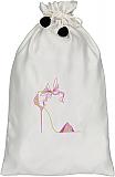Whimsical Purple Shoe Bag